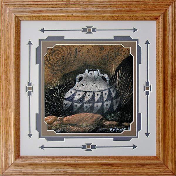 Bilson Kee Navajo Sandpaintings Penfield Gallery Of