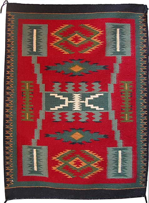 Julia Charley Navajo Weaver Penfield Gallery Of Indian Arts Albuquerque New Mexico