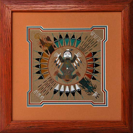 Jenny Shorty Navajo Sandpaintings From Penfield Gallery Of
