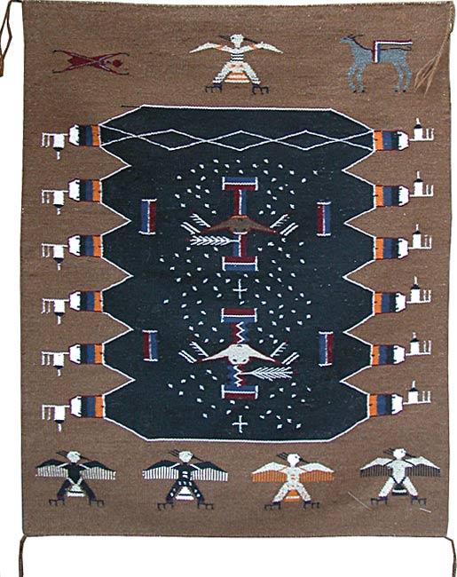 Pete Gilmore Navajo Weavings From Penfield Gallery Of