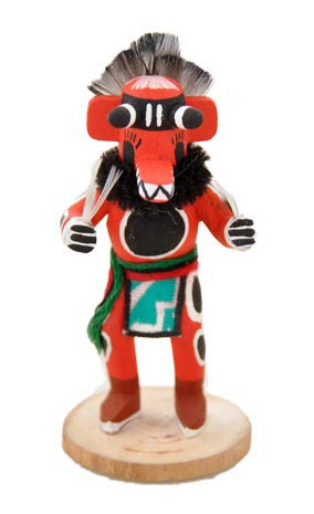 Adrian Leon Hopi Bear Kachina Doll Penfield Gallery Of