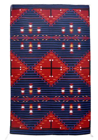 Betty Joe Navajo Weaving Or Rug From Penfield Gallery Of