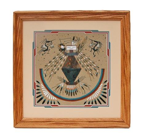 Josina Begay Navajo Sandpaintings From Penfield Gallery Of