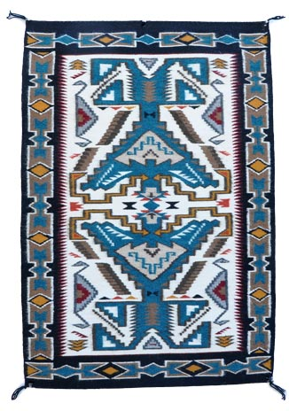 Julia Charley Navajo Teec Nos Pas Weaving Or Rug