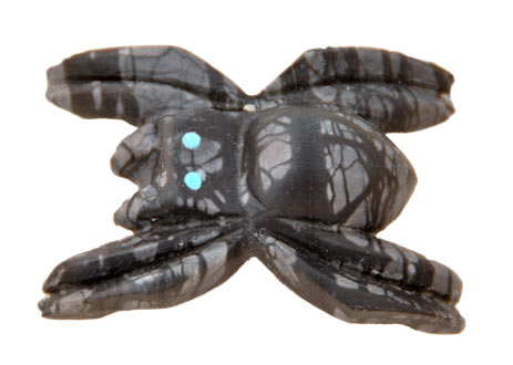 Michael Coble | Zuni Spider Fetish | Penfield Gallery of Indian Arts | Albuquerque, New Mexico