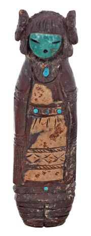 Stuart Quandalacey | Zuni Maiden | Penfield Gallery of Indian Arts | Albuquerque, New Mexico
