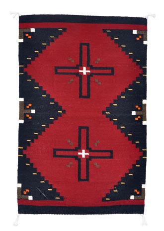 Wilbertson Begay | Navajo Weaving | Penfield Gallery of Indian Arts | Albuquerque, New Mexico