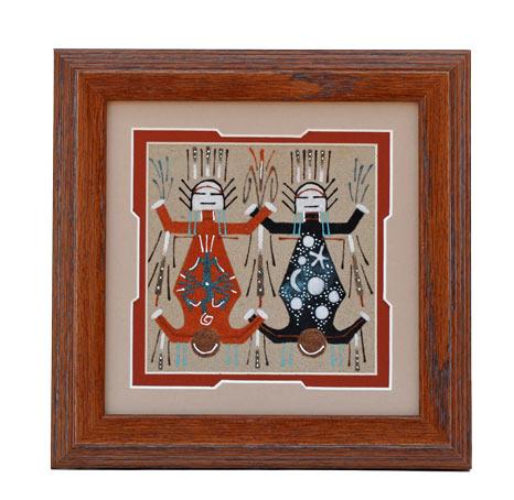 Wilton Lee Navajo Sandpainting Penfield Gallery Of
