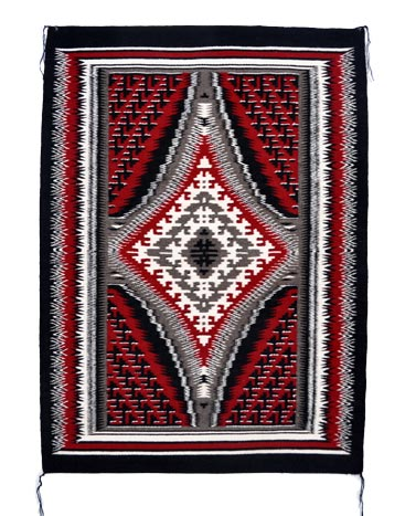 Tomascita Benally Navajo Gando Rug Penfield Gallery Of